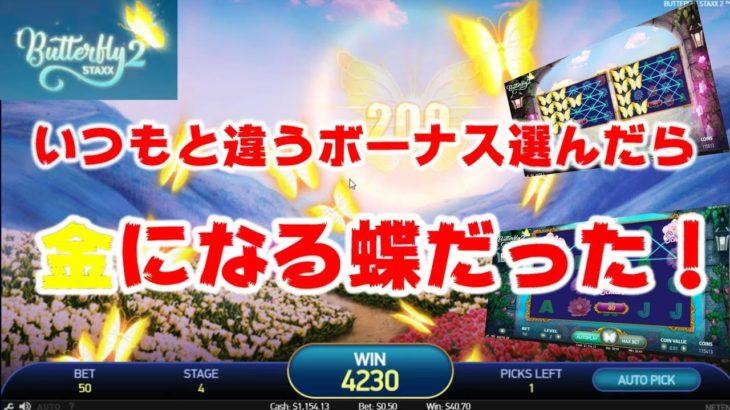 オンラインカジノ 【Butterfly2】カジ旅