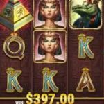 【ネットカジノJP】スロット『Legacy of Egypt』で454倍のBIGWIN