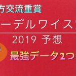 【競馬予想】 地方交流重賞 エーデルワイス賞 2019 予想