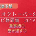 【競馬予想】 オクトーバーステークス テレビ静岡賞 2019 予想