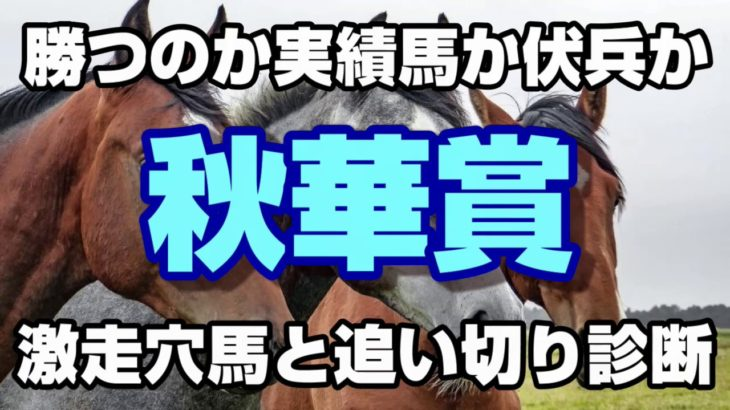 【競馬予想】2019年秋華賞 激走穴馬と追い切り診断