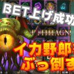 【TOM OF MADNESS】基本のようなBET上げによる勝利!オンラインカジノ