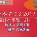 【競馬予想】 みやこステークス 2019 本予想 錦秋ステークス 清水ステークス