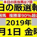 毎日更新 【軸馬予想】■名古屋競馬■園田競馬■2019年11月1日(金)