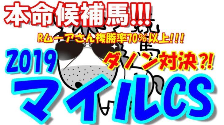 【マイルチャンピオンシップ】マイルCS2019 注目馬【競馬予想】
