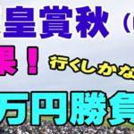 【競馬結果】天皇賞秋(G1)超豪華メンバー!行くしかない5万円勝負★むかない★