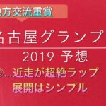 【競馬予想】 地方交流重賞 名古屋グランプリ 2019 予想