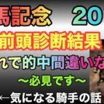 有馬記念2019【前頭診断】条件合った馬は!?【競馬予想】【競馬オッズ】