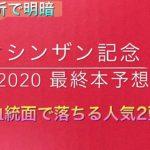 【競馬予想】 シンザン記念 2020 本予想