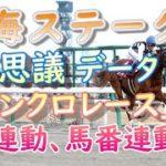 【競馬】 東海ステークス  2020  不思議データ  【馬券】
