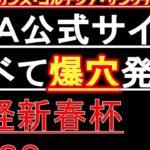 【競馬予想】日経新春杯 2020 JRA公式サイト調べて発見!