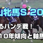 【競馬予想】中山牝馬S2020 過去10年傾向と軸馬穴馬