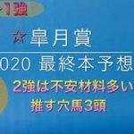 【競馬予想】 皐月賞 2020 最終本予想