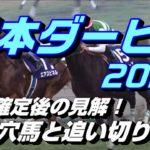 【競馬予想】日本ダービー2020 枠順確定後の見解!激走穴馬と追い切り診断