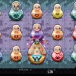 【オンラインカジノ】Babushkas wild mystery feature Cute bear