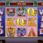 【オンラインカジノ】Kitty Cabana freespin wild reel