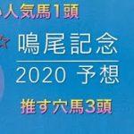 【競馬予想】 鳴尾記念 2020 予想