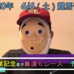 2020/6/6土曜競馬予想第一部😊鳴尾記念ほかbyMr.おじさん