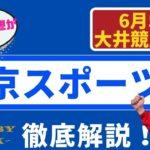 【田倉の予想】6月5日大井競馬・11R 東京スポーツ賞 徹底解説!