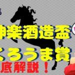 【田倉の予想】6月8日川崎競馬 神楽酒造盃くろうま賞 徹底解説!