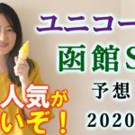【競馬】ユニコーンS 函館スプリントS 2020 予想(日曜新馬戦と最終レースの予想はブログで!) ヨーコヨソー