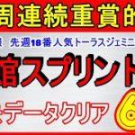 函館スプリントS 2020 競馬予想 消去データ厳選6頭 先週18番人気激走!外厩情報