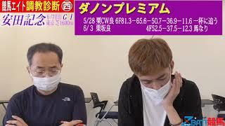 【競馬エイト調教診断】安田記念(明木&籔本)