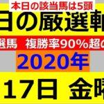 毎日更新 【軸馬予想】■名古屋競馬■園田競馬■2020年7月17日(金)