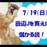 【競馬】泰河の勝負馬券 福島芝1200mで田辺騎手を買えば儲かる説 【検証】7月19日(日)