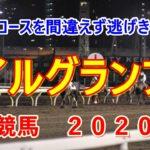 マイルグランプリ【大井競馬2020予想】今度はコースを間違えず逃げきり勝ち!