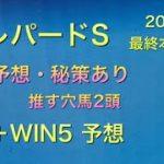 【競馬予想】 レパードステークス 2020 最終本予想 WIN5 予想 驀進特別 信濃川特別 HBC賞