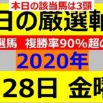 毎日更新 【軸馬予想】■川崎競馬■園田競馬■2020年8月28日(金)