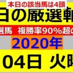 毎日更新 【軸馬予想】■門別競馬■金沢競馬■2020年8月4日(火)