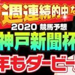 【競馬予想】 2020 神戸新聞杯 今年もダービー馬!