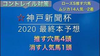【競馬予想】 神戸新聞杯 2020 本予想
