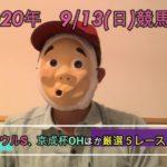 2020/9/13日曜競馬予想第一部😉セントウル,京成杯AHほかbyMr.おじさん