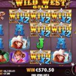 オンラインカジノ大勝ち動画 ワイルド・ウェスト・ゴールド Big won Wild West Gold