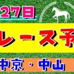 【週間競馬予想TV】2020年9月27日(日) 中央競馬全レース予想〜狙い馬・推奨レース〜を公開。中京・中山の平場、特別戦、重賞レース、神戸新聞杯、オールカマー。