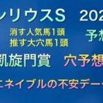 【競馬予想】 シリウスステークス 凱旋門賞 2020 予想