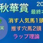 【競馬予想】 秋華賞 2020 本予想