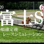 2020 富士ステークス 競馬予想 レースシミュレーション(枠順確定後)