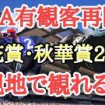 【競馬】JRAが競馬場のファン入場再開!菊花賞・秋華賞2020が現地で見れる!?