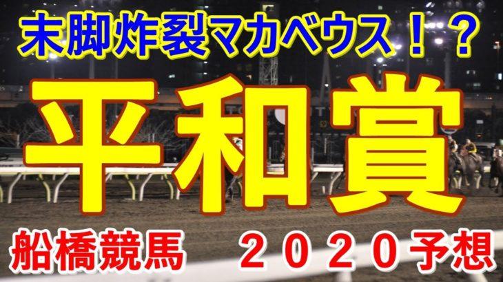 平和賞【船橋競馬2020予想】末脚炸裂マカベウス!?