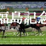 2020 福島記念 競馬予想 レースシミュレーション(枠順確定後)