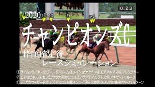 2020 チャンピオンズカップ 競馬予想 レースシミュレーション(枠順確定後)