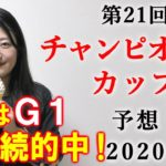 【競馬】チャンピオンズカップ 2020 予想 (土曜新馬戦と浜松ステークスの予想はブログで!) ヨーコヨソー