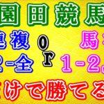 【地方競馬攻略】園田競馬 3連複1-2-全or馬複1-2,3,4だけで勝つ! 2020.12.8.9 園田競馬 楽天競馬