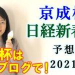 【競馬】京成杯 日経新春杯 2021 予想(愛知杯の予想はブログで!) ヨーコヨソー