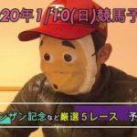 2021/1/10日曜競馬予想😏シンザン記念ほかbyMr.おじさん