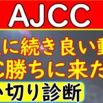 AJCC2021年競馬予想!追い切り診断!この馬勝ちに来た仕上げです!